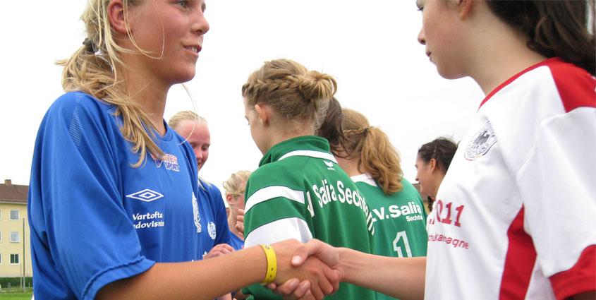 Salia C-Mädels Gothia Cup